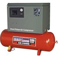 Sealey SAC2203BLN Air Compressor 200 Litre 240v