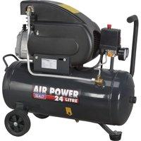 Sealey SAC2420E Air Compressor 24 Litre 240v