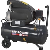 Sealey SAC2420E Air Compressor 24 Litre 240v
