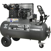 Sealey SAC3153B Air Compressor 150 Litre 240v