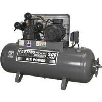 Sealey SAC32055B Belt Drive Air Compressor with 200 Litre 415v