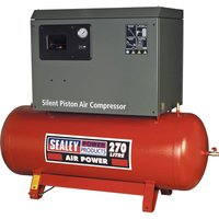 Sealey SAC42755BL Low Noise Air Compressor 270 LItre 415v