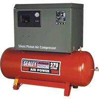 Sealey SAC72775BL Low Noise Air Compressor 270 Litre 415v