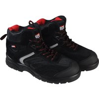 Scan Mens Bobcat Hiker Safety Boots Black Size 7
