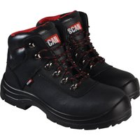 Scan Mens Serval Safety Boots Black Size 12