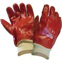 Scan Pvc Knitwrist Glove One Size