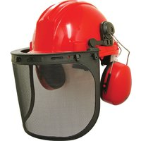 Scan MK3 Forestry Safety Helmet Kit Orange