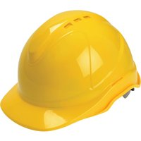 Scan Superior Ventilated Safety Helmet Yellow