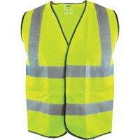 Scan Hi Vis Waistcoat Yellow 2XL