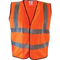 Scan Hi Vis Waistcoat Orange XL