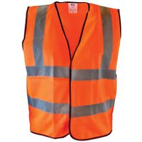 Scan Hi Vis Waistcoat Orange M