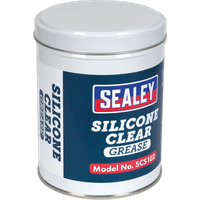 Sealey Silicone Clear Grease 500g