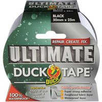 Shure Roll Ultimate Duck Tape Black 50mm 25m
