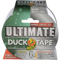 Shure Roll Ultimate Duck Tape Silver 50mm 25m
