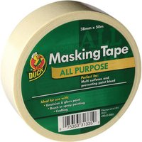Duck Tape Trade All Purpose Masking Tape White 38mm 50m