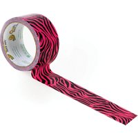 Shure Multi Patterned Duck Tape Pink Zebra