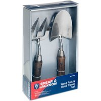 Spear and Jackson Stainless Steel Trowel and Fork Garden Tool Set