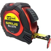 Sirius Tuff Jack Tape Measure Imperial & Metric 26ft / 8m 25mm