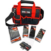Sirius Drill and Screwdriver Bit Set for Wood, Metal and Masonry