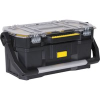 Stanley Plastic Tote Tool Box with Removeable Tool Organiser 560mm