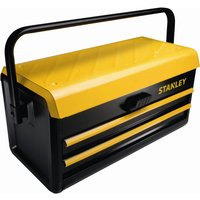 Stanley Metal Tool Box & 2 Sliding Drawers 470mm