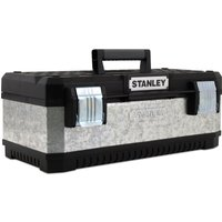 Stanley Galvanised Metal Tool Box 575mm