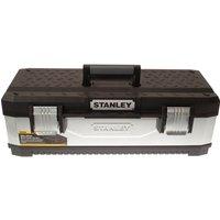 Stanley Galvanised Metal Tool Box 650mm