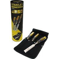 Stanley FatMax 3 Piece Wood Chisel Set