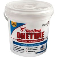 Red Devil Onetime Ready Mixed Filler 4l
