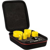 Starrett KDC06021 8 Piece General Purpose Hole Saw Set