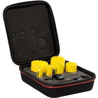 Starrett KDC07021 9 Piece Plumbers Hole Saw Set