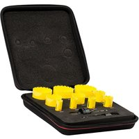 Starrett KDC10021 12 Piece Electricians Hole Saw Set