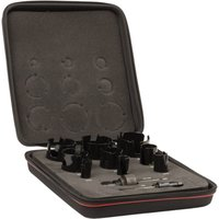 Starrett KMP09021 11 Piece General Purpose Hole Saw Set