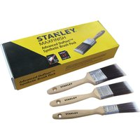 Stanley Maxfinish 3 Piece Synthetic Paint Brush Set