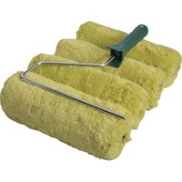 Stanley Padded Green Acrylic Paint Roller Set 230mm