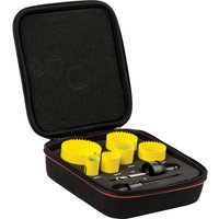 Starrett KFC06023 8 Piece General Purpose Hole Saw Set