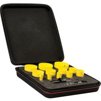 Starrett KFC12021 14 Piece Plumbers and Electricians Hole Saw Set