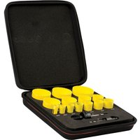 Starrett KFC14021 16 Piece General Purpose Hole Saw Set