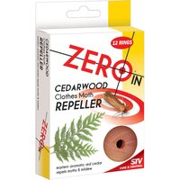 STV Big Cheese Zero In Moth Repeller Cedar Rings