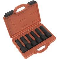 Sealey 6 Piece 3/4 Drive Deep Bi Hexagon & Torx Impact Socket Set 3/4