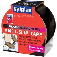 Sylglas Anti SlipTape Black 50mm 3m