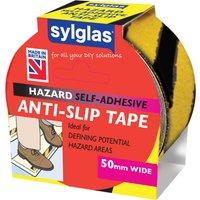 Sylglas Anti SlipTape Black / Yellow 50mm 18m