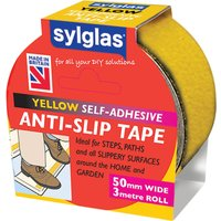 Sylglas Anti SlipTape Yellow 50mm 3m