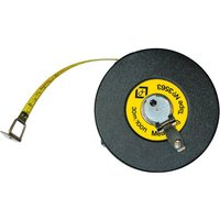 CK Steel Tape Measure Imperial & Metric 100ft / 30m 13mm