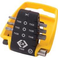 CK 7 Piece Torx Screwdriver Bit Set