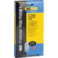 Tacwise 91 Divergent Point Staples Assorted Pack of 2800