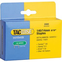 Tacwise 140 Staples 14mm Pack of 2000