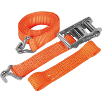 Sealey Ratchet Tie Down Strap for Car Transporters 50mm 3m 2500kg