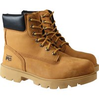 Timberland Mens Pro Saw Horse Safety Work Boots Chestnut Size 7