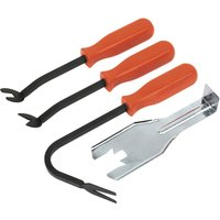 Sealey 4 Piece Trim Clip Removal Tool Kit